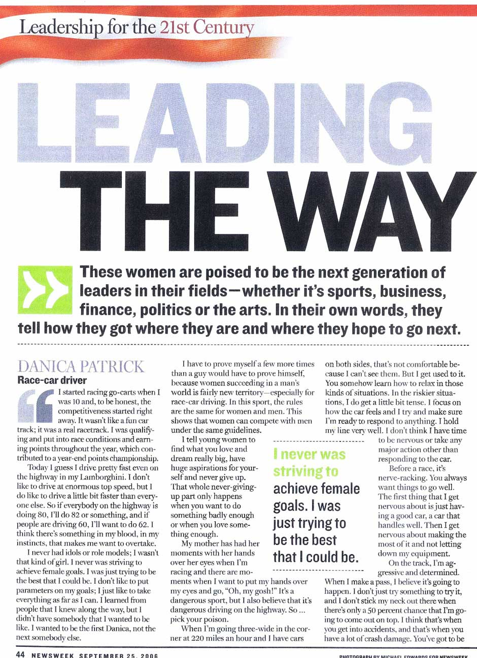 Newsweek--Women-and-Leadership--2006--Page-1