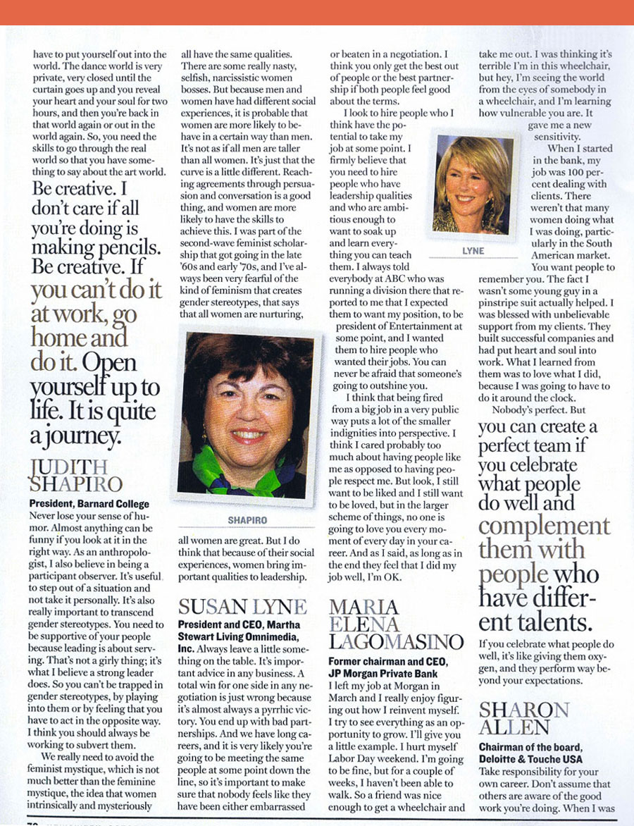 Newsweek-Women-Leadership-Lessons-2005-Page-2